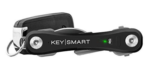 organizador de llaves con luz led Keysmart Pro negro