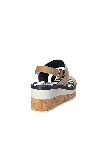 Beige Wedge Sandals U Women Polo c1 s Assn Fleur4110s8 cCBwxR8Uwq