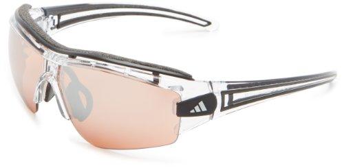 adidas Evil Eye Halfrim Pro XS A180 6078 Rectangle Sunglasses,Crystal Black,62 mm (Evil Eye Pro)