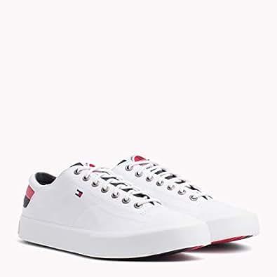 Tommy Hilfiger-FM0FM01947-Men-Low Cut Sneakers-WHITE-44 EU