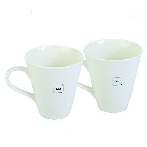 Black//White Twos Company E4087 Good Friends Are Like Angels Mug