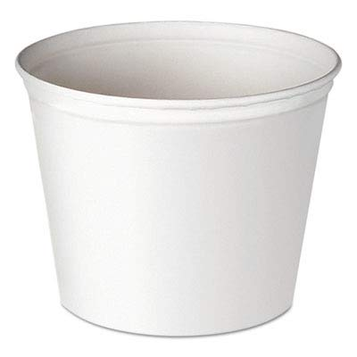 Solo 5T1-N0195 83 oz White Paper Bucket (Case of 100)