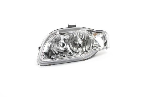 Left Passenger Side Headlamp Front Head Light (With Clear Indicator Lamp Electric + Motor):