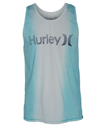 Hurley Men's One and Only Dip Premium Tank, Clearwater, XX-Large