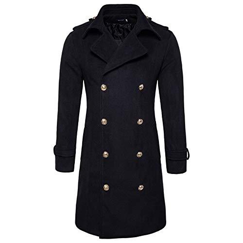 Jacket Del Lana Abrigos Invierno Color Outerwear Delgado Hombres vxEB6xq