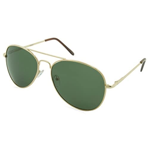 adc16f8378a Alta Vision Sunglasses - Polarized Aviator   Frame  Gold Lens   Grey-LR129522GLD best