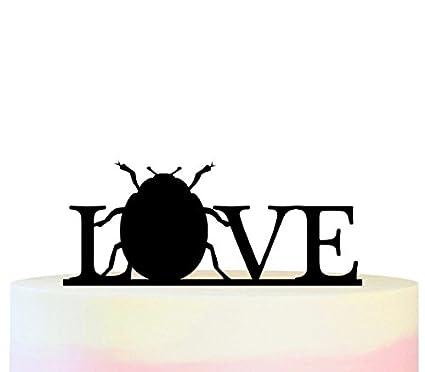 Innovedesire Love Ladybug Cake Cupcake Topper para tartas ...