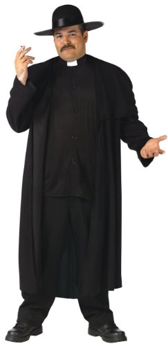 The Priest Movie Costume (Deluxe Priest Adult Plus Costume Plus)