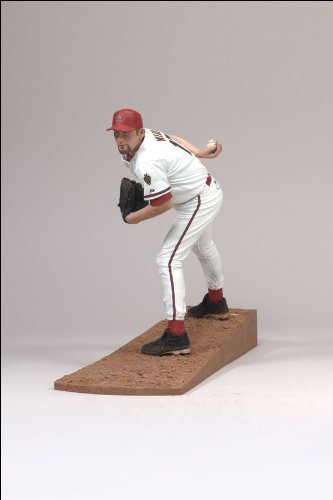Action Sports Baseball (McFarlane Toys MLB Sports Picks Series 18 Action Figure Brandon Webb (Arizona Diamondbacks))