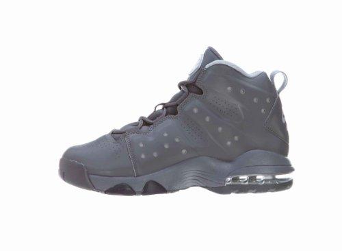Nike Kids Air Max Barkley (gs) Scarpa Da Basket Grigio Scuro / Drk Grigio-bianco-wlf Gry