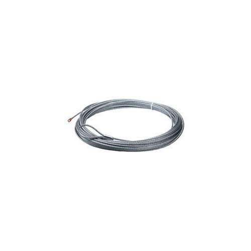 WARN 60076 Wire Rope; 0.1875 in. x 50 ft.; For Winch w/Aluminum Drum; Models A2000; A2500; 2.5ci; 3.0ci;