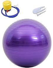KINDOYO Stabiliteits Gymbal - 45-95 cm Anti-burst Gymbal Met Voetluchtpomp, Ideaal Voor Yoga, Fitness, Gym, Pilates