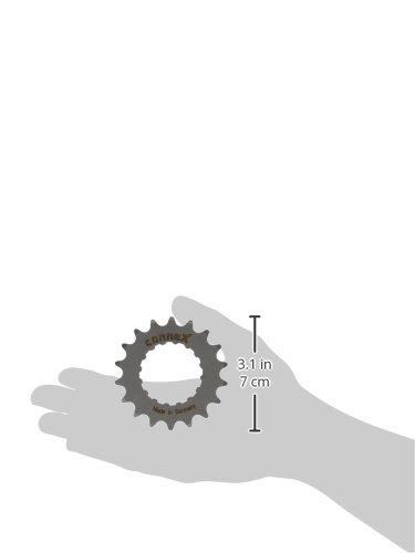 Connex Uni E-Bike Pi/ñ/ón para Bosch tracci/ón 18/Dientes Cadena Hojas One Size Plata