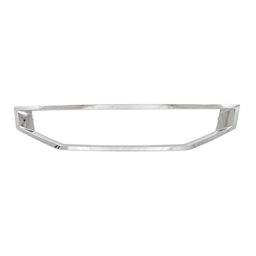 Koolzap For 08-10 Accord Coupe Front Grille Trim Grill Molding Chrome HO1210123 71122TE0A01