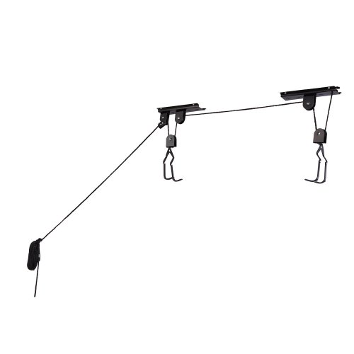 RAD Cycle Products Bike Lift Hoist Garage Mountain Bicycle Hoist 100LB Capacity (2-Pack)
