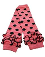 Cotton Leg Warmers with Ruffles (Ages 5 Months and Up)