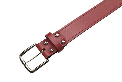 Athletic Specialties Leather Baseball Belt 1-1/2