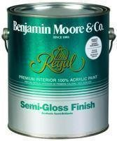 Benjamin Moore Qt Regal Interior Semi-Gloss Paint ()