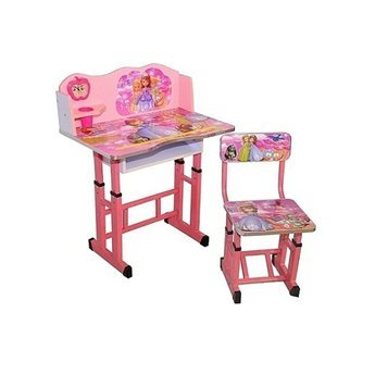 Kids Wooden Study Table In Sofia Cartoon Printed New Year Gift For