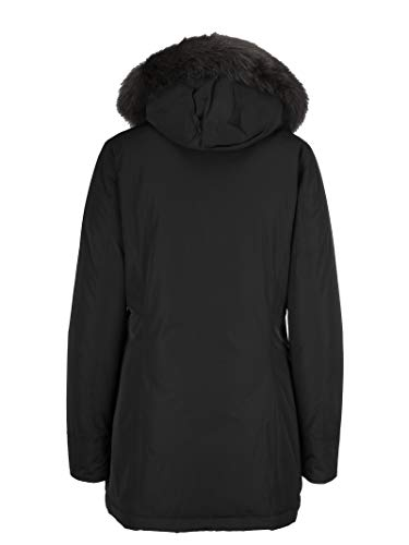 Poliestere Donna Woolrich Outerwear Giacca Nero Wwcps2635cf40100 xqa0aH