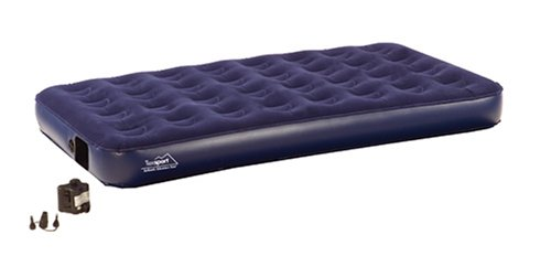 Texsport Full Air Bed with Built-in Pump