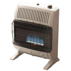 Mr. Heater 30,000 BTU Vent Free Blue Flame Natural Gas Heater MHVFB30NGT - Propane Gas Pilot Light