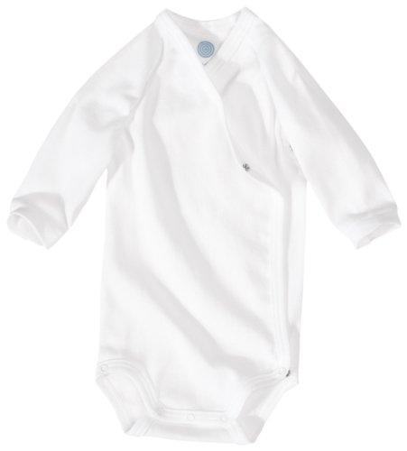 Sanetta 302300 Unisex - Baby Babykleidung/ Unterwsche/ Bodys, Gr. 62 Wei