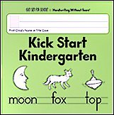 Kick Start Kindergarten Handwriting Without Tears