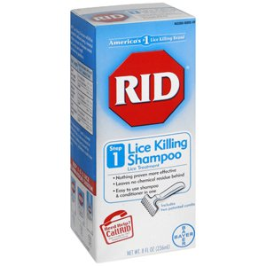 PACK OF 3 EACH RID LICE SHAMPOO STEP 1 W/COMB 8OZ PT#7430000320 by Marble Medical