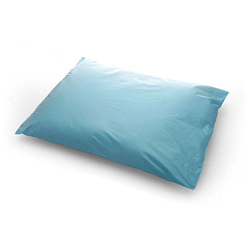(MediChoice Pillow, Reusable, Vinyl Ticking Cover, 17 Ounce Polyester Fiber Fill, 18 x 22 Inch, Blue, 1314089RP20 (Case of)