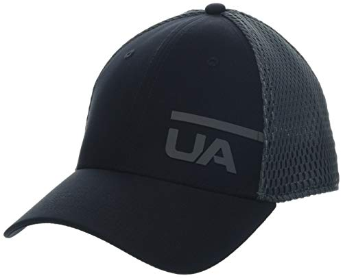 - Under Armour Men's Train Spacer Mesh Cap, Black//Pitch Gray, Large/X-Large