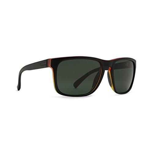 VonZipper Lomax Rectangular Sunglasses, Vibrations Satin/Quasar, 57 - Sunglasses Vonzipper Womens