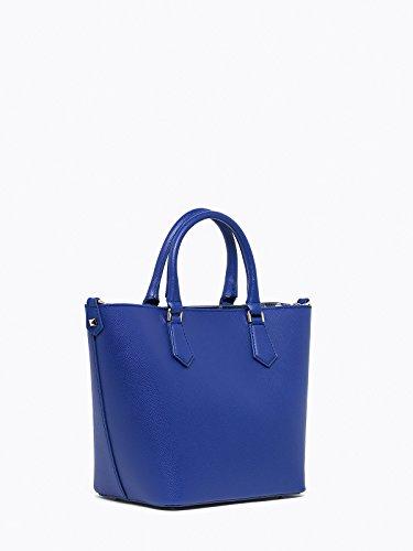 PATRIZIA PEPE Candy Cadillac Borsa a mano Pelle 22 cm Modern Blue