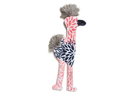 West Paw Dog Toy Mingo for Dogs Large Color: Carnation by West Paw