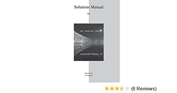 Amazon solutions manual for corporate finance 9780077511340 amazon solutions manual for corporate finance 9780077511340 stephen ross randolph westerfield jeffrey jaffe books fandeluxe Images