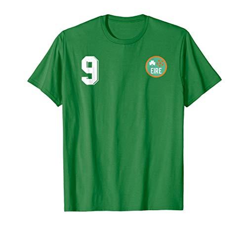 Retro Ireland Soccer Jersey EIRE Football T-Shirt number 9