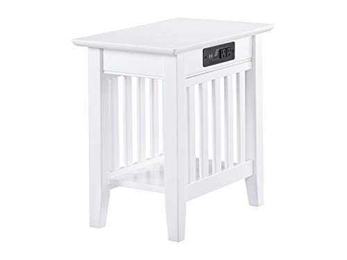 Compare Price Side Table With Usb Charger On