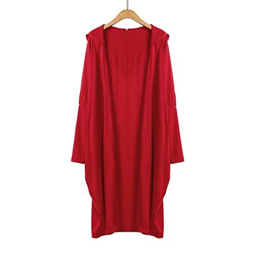 Spbamboo Womens Cardigan Oversize Long Jacket Open Front Bat Sleeve Coat Outwear by Spbamboo (Image #1)