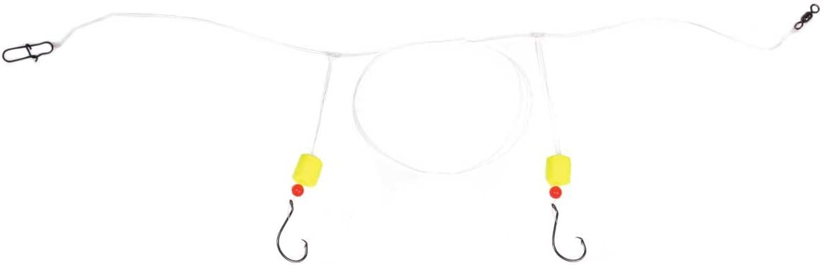 POMPANO RIG JIGS TEASERS 1//0 HOOK 12 PACK