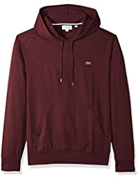 Men's Long Sleeve Jersey Hoodie Tee Central Pocket, TH9349