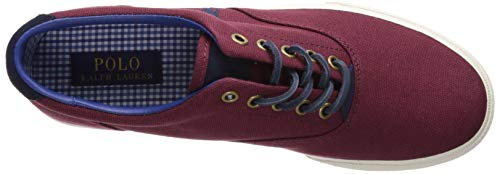 Ralph EU Vaughn Canvas Mens Lauren 42 Port Trainers wnwrPgxqf