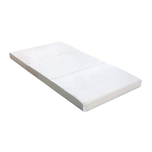 Milliard Tri Folding Mattress with Washable Cover
