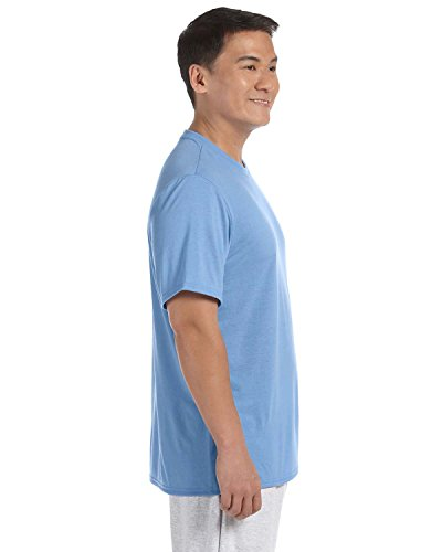 Gildan Men's Performance Polyester Knit Wicking T-Shirt, Carolina Blue, ()