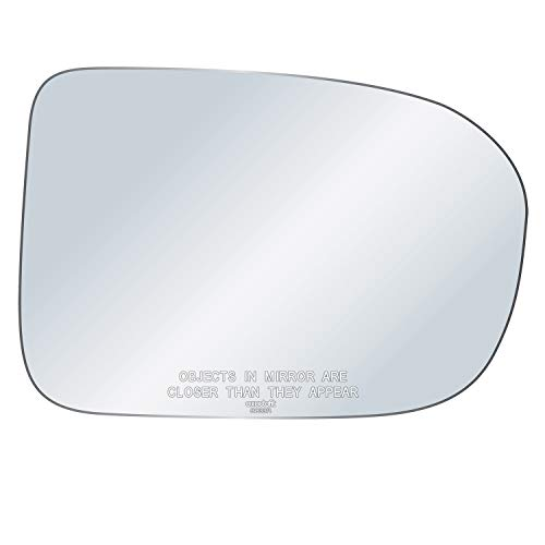 exactafit 8833R Passenger Right Side Mirror Glass Replacement fits 2014-2015 Honda Civic by Rugged TUFF