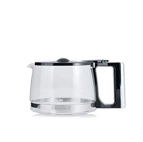 (Swirl Glass Jar Jug 10 Cups CRP728 For Philips Coffee Maker HD7740 HD7742 HD7751 422245954551)
