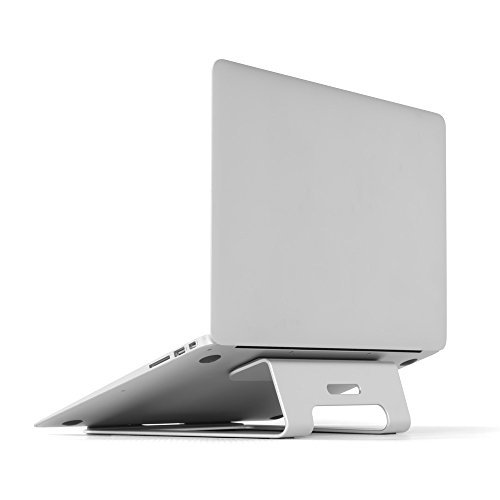 Mingo Labs AP-1 Laptop Stand with Cord Management for 10''-15'' Laptops, Silver by Mingo Labs (Image #2)