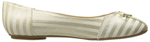Tommy Hilfiger Womens Primevère Ballet Plat Or