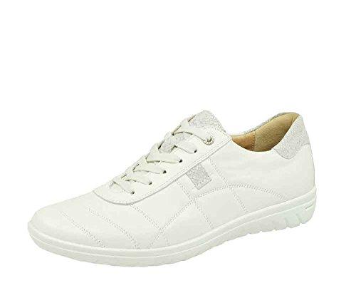 de mujer 83962 2 19 Weiß para Zapatos cordones Hartjes wPvxSTx