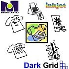 200PK DARK TRANSFER PAPER FOR INKJET PRINTING A4 by BLUE GRID