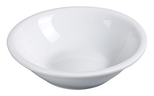 "Yanco AC-32 ABCO 3.5 oz Fruit Bowl, 4.25"" Diameter, Porcelain, Super White, Pack of 36"